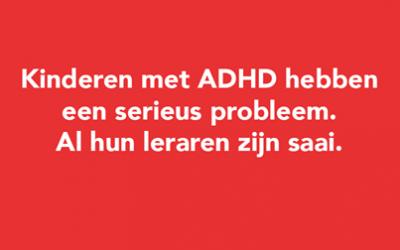 HELP! Mijn kind heeft ADHD!!~!